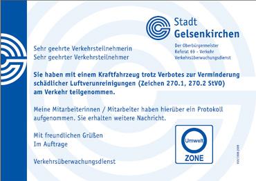 Umwelt Knöllchen in Gelsenkirchen