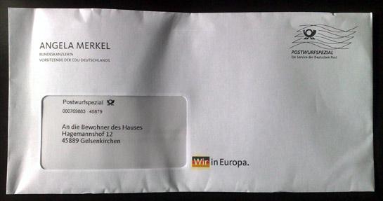 Angelas Postwurfsendung