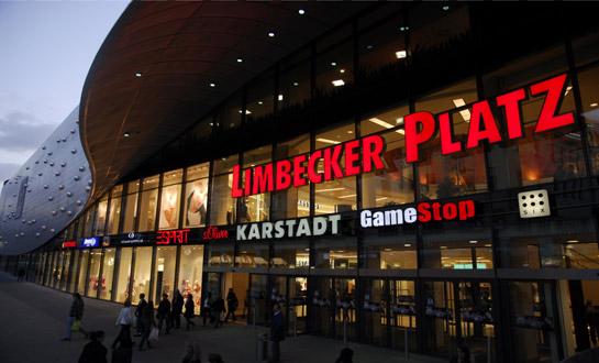 Der Limbecker Platz in Essen