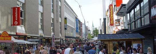 Verkaufsoffener Sonntag in Gelsenkirchen.