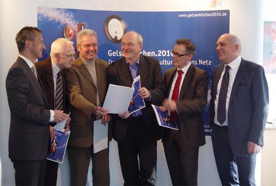 Pressekonferenz der Stadt Gelsenkirchen