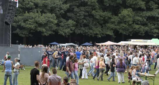 Sommerfest Schloss Berge 2010