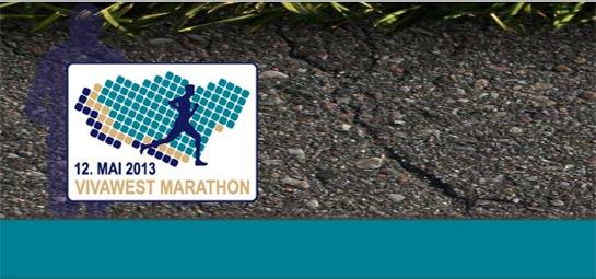 VIVAWEST Marathon 2013 Logo