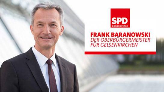 Frank Baranowski als OB Kandidat bestätigt