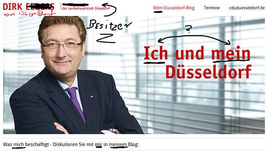 Dirk Elbers kritisiert das Ruhrgebiet