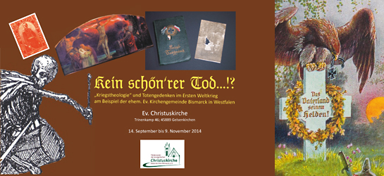Ausstellung in der Christuskirche Gelsenkirchen Bismarck