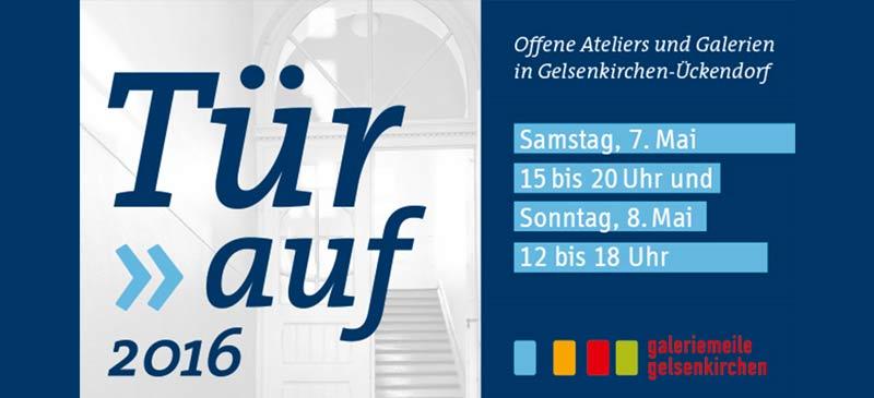 Tür auf! 2016 - Rauf auf die Galeriemeile Gelsenkirchen!