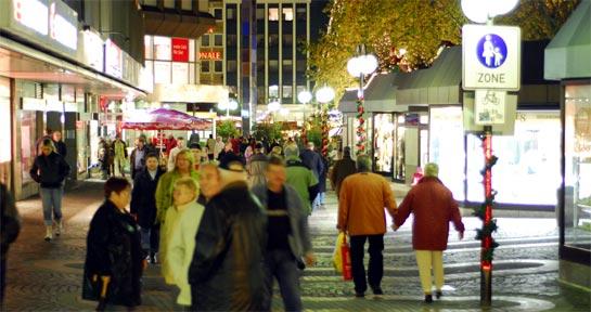 Weihnachtsmarkt 2009 in Gelsenkirchen
