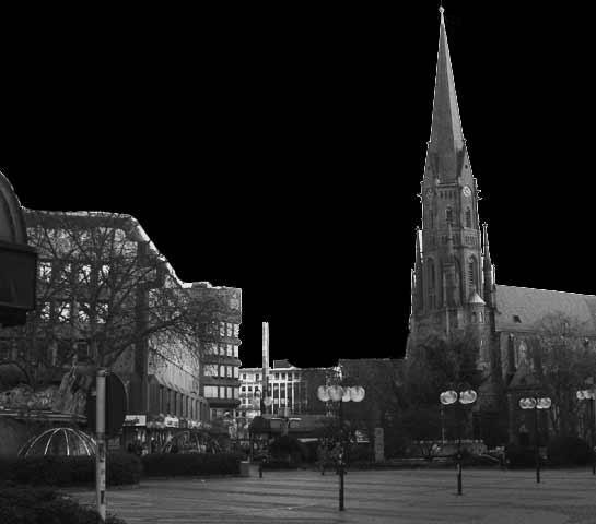 Dunkel, dunkler, Gelsenkirchen.