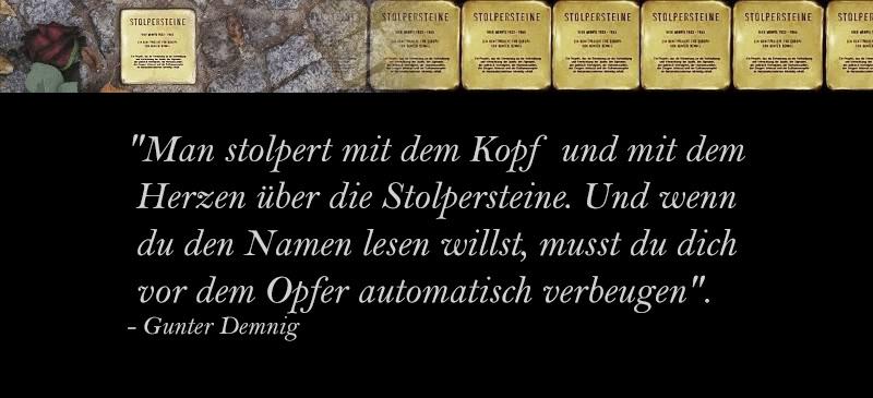 Das Projekt Stolpersteine Gelsenkirchen erntet Kritik von oberster Stelle. Die Vorsitzende der Jüdischen Gemeinde Gelsenkirchen äußert sich öffentlich kritisch gegenüber dem Projekt und führt es fast ad absurdum.