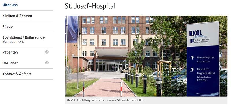 Hiobsbotschaft für Patienten und Mitarbeiter in Gelsenkirchen: Das Horster St.Josef-Hospital soll noch 2017 geschlossen werden.