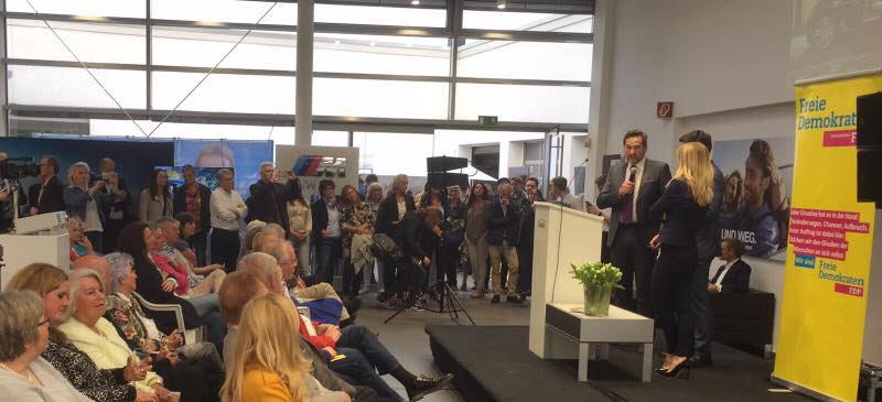 Christian Linder zum Wahlkampf Endspurt in Gelsenkirchen